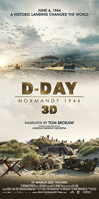 D-Day 3D: Normandy 1944 poster