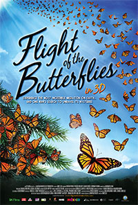 Flight of the Butterflies 3D poster
