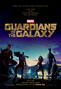 Guardians of the Galaxy 3D poster