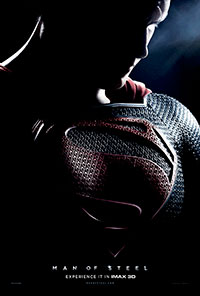 Man of Steel 2D poster