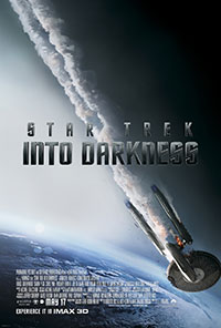 Star Trek Into Darkness 3D poster