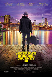 America's Musical Journey: Lights Up Sound Down 2D poster