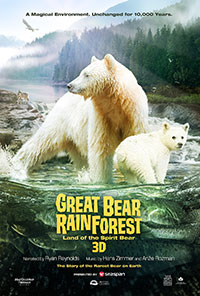 Canada's Great Bear Rainforest 3D poster