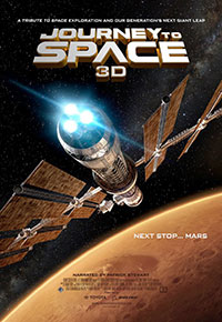 Journey to Space 3D poster