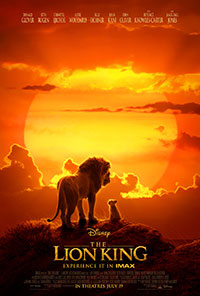 The Lion King 2D poster